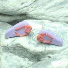 HAND CRAFTED BEADS OF FIMO FLIP FLOP SLIPPER STUD EARRINGS