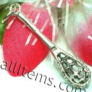 925 STERLING SILVER LACROSSE STICK CHARM / PENDANT