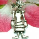 925 STERLING SILVER OLIVE OYL (MOVES) CHARM / PENDANT