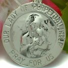925 STERLING SILVER OUR LADY OF PERPETUAL HELP CHARM / PENDANT