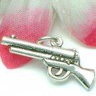 925 STERLING SILVER SHORT GUN CHARM / PENDANT