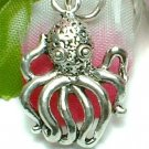 925 STERLING SILVER OCTOPUS CHARM / PENDANT
