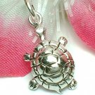 925 STERLING SILVER TORTOISE CHARM / PENDANT