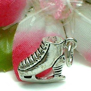 925 STERLING SILVER ICE SKATE CHARM / PENDANT