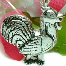 925 STERLING SILVER ROOSTER CHARM / PENDANT
