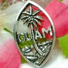925 STERLING SILVER GUAM PALM TREE CHARM / PENDANT