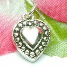 925 STERLING SILVER HEART CHARM / PENDANT