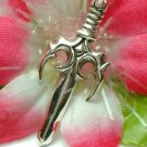 925 STERLING SILVER SWORD CHARM / PENDANT