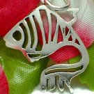 925 STERLING SILVER GOLDFISH CHARM / PENDANT