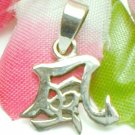 925 STERLING SILVER CHINESE SYMBOL CHARM / PENDANT - WIND