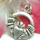 925 STERLING SILVER CELTIC CLADDAGH CHARM / PENDANT