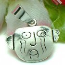 925 STERLING SILVER CRYING MAN CHARM / PENDANT