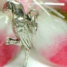 925 STERLING SILVER PARROT CHARM / PENDANT
