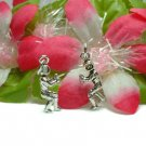 925 STERLING SILVER FOOTBALL PLAYER CHARM / PENDANT