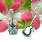 925 STERLING SILVER GUITAR CHARM / PENDANT #1