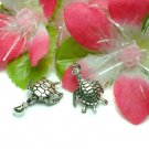 925 STERLING SILVER SEA TURTLE (MOVABLE) CHARM PENDANT