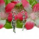 925 STERLING SILVER FEMALE JOGGER CHARM / PENDANT