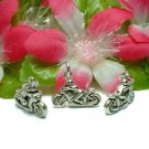 925 STERLING SILVER MOTORCYCLE WITH BIKER CHARM PENDANT