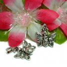 925 STERLING SILVER BUTTERFLY (MOVES) CHARM / PENDANT