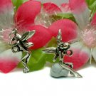 925 STERLING SILVER ACROBAT FAIRY ELF CHARM / PENDANT