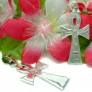 925 STERLING SILVER INSCRIBED ANKH KEY OF LIFE PENDANT