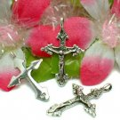 STERLING SILVER JESUS CHRIST CRUCIFIED CROSS PENDANT