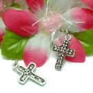 925 STERLING SILVER CROSS CHARM / PENDANT #38