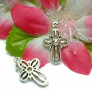 925 STERLING SILVER CROSS CHARM / PENDANT #26