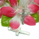 925 STERLING SILVER CROSS CHARM / PENDANT #18