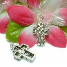 925 STERLING SILVER CELTIC CROSS CHARM / PENDANT #10