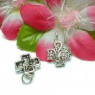 925 STERLING SILVER CELTIC CROSS CHARM / PENDANT #6