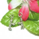 925 STERLING SILVER BOY WITH BASKET OF APPLES CHARM