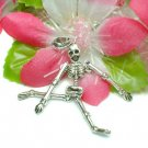 925 STERLING SILVER SKELETON (MOVES) CHARM / PENDANT