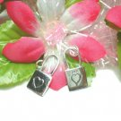925 STERLING SILVER LOVELOCK CHARM / PENDANT
