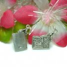 925 STERLING SILVER DRIVER'S LICENSE WITH KEYS CHARM