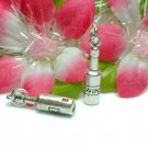 925 STERLING SILVER BOTTLE OF WINE CHARM / PENDANT