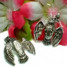 925 STERLING SILVER FLYING HAWK / EAGLE (MOVES) PENDANT