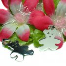 925 STERLING SILVER TEDDY BEAR (FOR ENGRAVING) CHARM