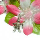 STERLING SILVER BUNNY RABBIT (MOVE) CHARM / PENDANT #86