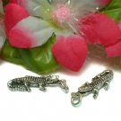 925 STERLING SILVER ALLIGATOR CHARM / PENDANT