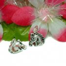 925 STERLING SILVER HORSEHEAD CHARM / PENDANT