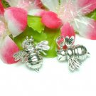 925 STERLING SILVER BEE (MOVABLE) CHARM / PENDANT