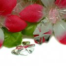 925 STERLING SILVER FOUR LEAF CLOVER CHARM / PENDANT