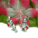 925 STERLING SILVER BEAR (MOVES) CHARM / PENDANT #3