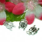 925 STERLING SILVER BUTTERFLY CHARM / PENDANT #4