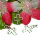 925 STERLING SILVER CROSS CHARM / PENDANT #12
