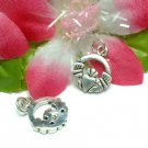 925 STERLING SILVER CELTIC CLADDAGH CHARM / PENDANT #17