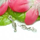 925 STERLING SILVER SEAHORSE CHARM / PENDANT #14