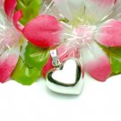 925 STERLING SILVER PUFFED HEART CHARM / PENDANT #3