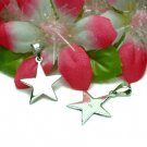 925 STERLING SILVER STAR CHARM / PENDANT #27